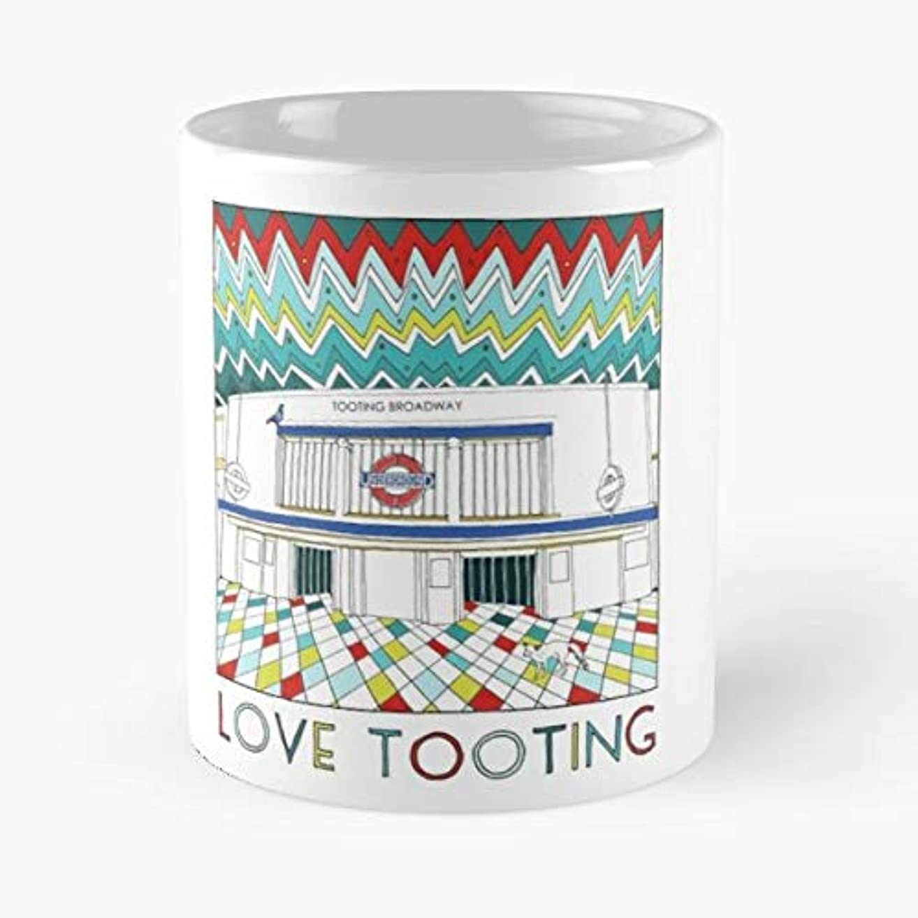 Tooting Broadway Wandsworth London - Coffee Mugs Best Gift For Father Day