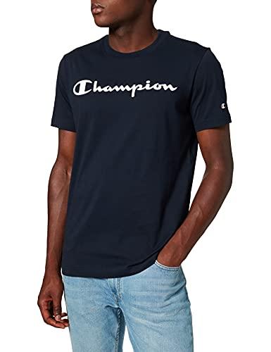 Champion Legacy Classic Logo T-Shirt, Bleu Marine, L Homme