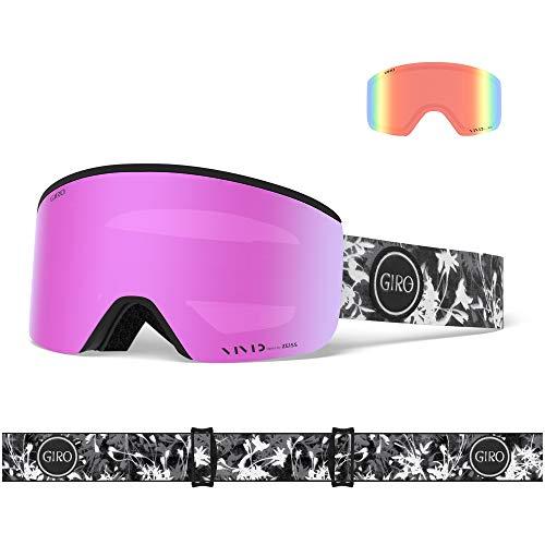 Giro Snow Damen Ella Skibrille, Sun Print Vivid pink/Vivid Infrared, Einheitsgröße