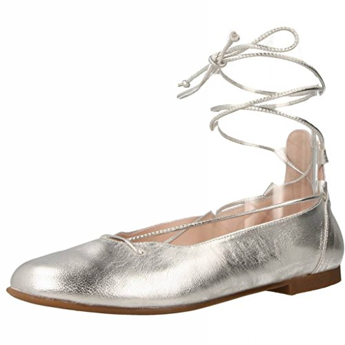 Landos Zapatos Ceremonia 69098 para Niñas Plateado 33 EU