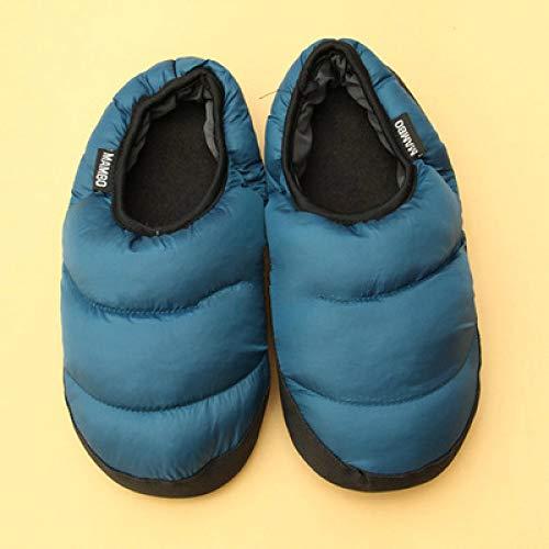 LLSPHYDY Zapatillas para Mujer, Zapatillas cálidas Coloridas en Bolsas, Zapatillas de algodón para el hogar de Pareja Bonita, Zapatillas para el hogar para Hombres y Mujeres