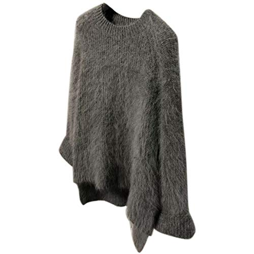 Giytoo Trui Jurk Voor Vrouwen Cashmere Trui Loose Tops Jassen Casual Warm Fluffy Trui