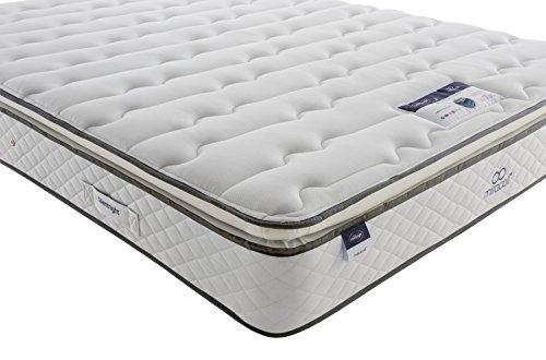Silentnight Miracoil Luxury Pillowtop Mattress | Medium | Double