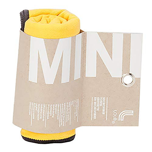 Lolë Small Towel handdoek, geel, eenheidsmaat