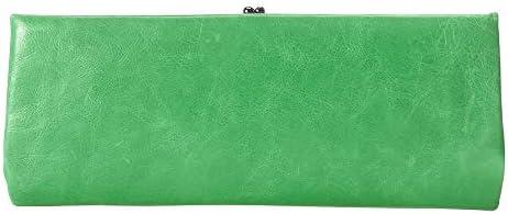 Hobo International Adelyn Vintage Kiss Lock Clutch Wallet in Mint product image
