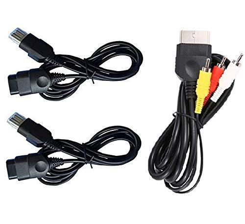 Darlinton & Sohns accessoireset voor Xbox tv-kabel, scart kabel, controller verlenging, gamepad