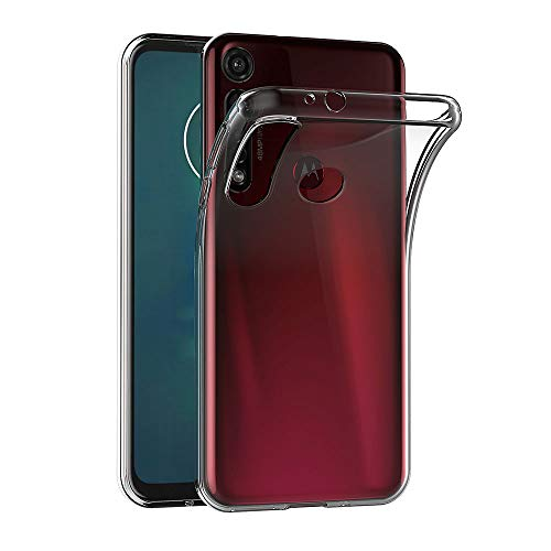 AICEK Funda Compatible Moto G8 Plus, Transparente Silicona Fundas para Motorola Moto G8 Plus Carcasa Silicona Funda Case (6,3 Pulgadas)