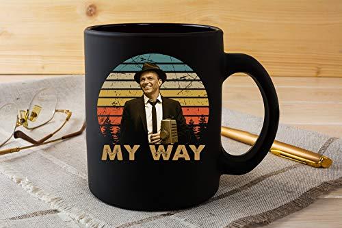 Classic Art My Way Sinatra Swing Jazz Music Ceramic Coffee Mug-15oz