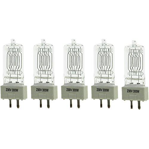 5 x 300W Lampe für Fresnel Tungsten Video Dauerlicht ALS Arri Pro Video