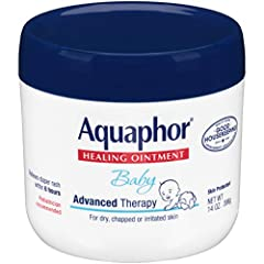 Multi-purpose solution for your baby's many skin care needs, Aquaphor Baby Healing Ointment is clinically proven to restore smooth, healthy skin Provide extra gentle care for your baby's tender and delicate skin by applying Aquaphor to irritated and ...