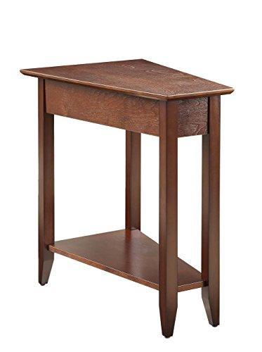 Convenience Concepts American Heritage Wedge End Table, Espresso