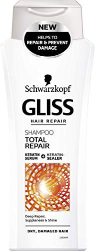 Schwarzkopf Gliss Total Repair Shampooing 250 ml