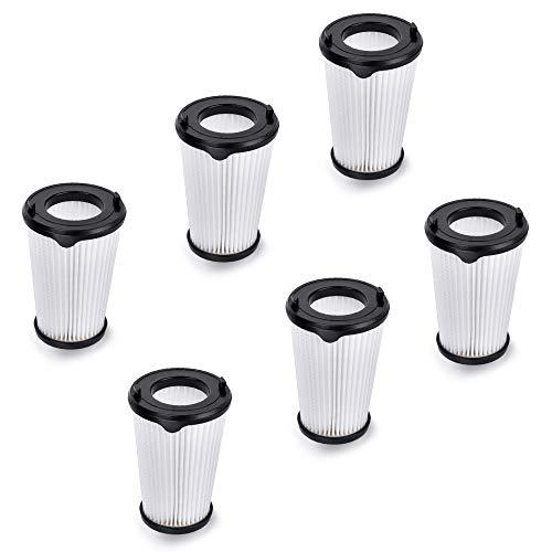 CX7 Filter für AEG Delmkin 6pcs Hepa Filter Set Ersatzfilter CX7 Filter für AEG Ergorapido Staubsauger, Artikelnummer AEF150, alle CX7-2 Modelle