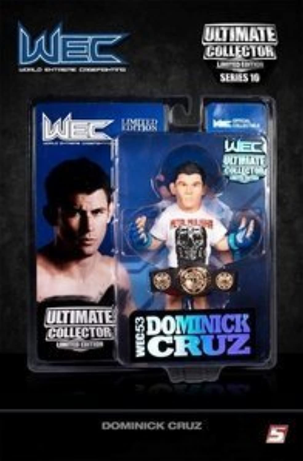 UFC Ultimate Collector Series 10 WEC Limited Edition Dominick Cruz Numbered to 750 by Round 5 MMA