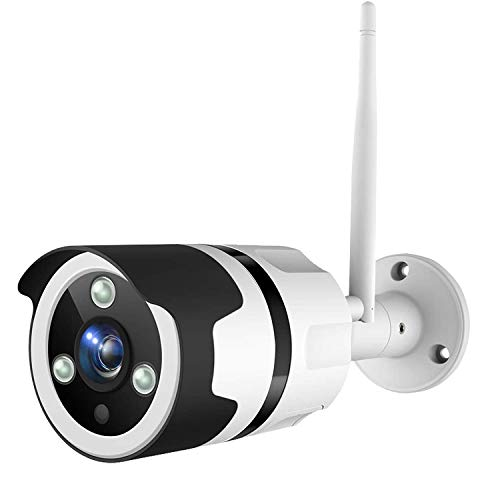 Netvue Vigil 1080P Bullet Camera, Compatible with Alexa, Outdoor Security Camera WiFi Enabled Camera with Night Vision, 14-day continuously Cloud Recording and TF Card Storage, Motion Detection