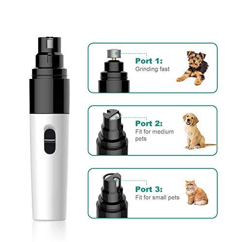 HOODIE Professionele Hond Automatische Nagel Polijstmachine, Laag Ruis Elektrische Huisdier Nagels Trimmer voor Kleine Medium Grote Huisdieren Nagels Care Kit