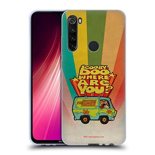 Head Case Designs Offizielle Scooby-DOO Wo bist du Vintage Soft Gel Huelle kompatibel mit Xiaomi Redmi Note 8T