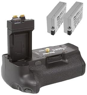 Phottix Batteriegriff + 2 Akkus (für Canon EOS 550D 600D 650D 700D) ersetzt BG-E8 und LP-E8 (B003L0H9AK)   Amazon price tracker / tracking, Amazon price history charts, Amazon price watches, Amazon price drop alerts