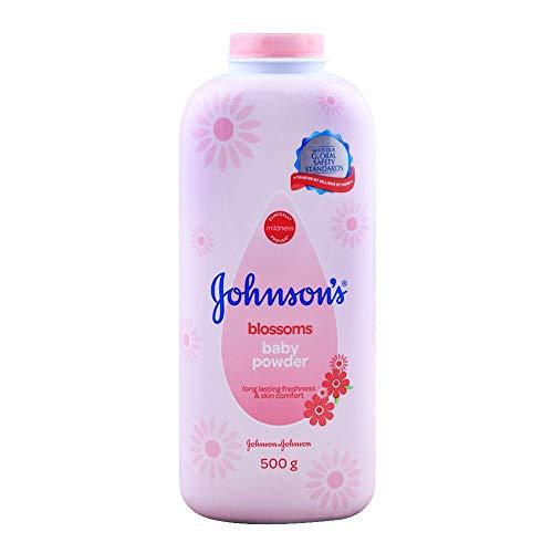 Johnson 's Baby Powder, Blossoms, 17,6oz/500g (Pack de 2)