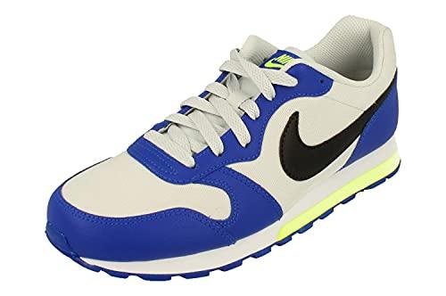 Nike MD Runner 2 GS Running Trainers 807316 Sneakers Scarpe (UK 4.5 us 5Y EU 37.5, Photon Dust Black Blue 021)
