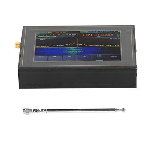 Ricevitore SDR Malachite, Ricevitore DSP 50KHz-200MHz Malachit, Analizzatore di rete vettoriale con schermo da 3,5 pollici, Analizzatore antenna radio HAM, da 400 MHz a 2 GHz(Con antenna)