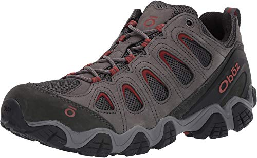 Oboz Sawtooth II Low Hiking Shoe - Men's Dark Shadow/Brandy Brown 10.5