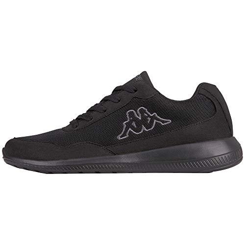 Kappa Follow OC, Sneaker Unisex – Adulto, Schwarz (1116 Black/Grey), 44 EU