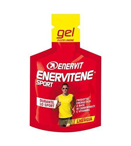 Enervit Enervitene Sport Guso Limone Confezione da 24 Gel da 25ml