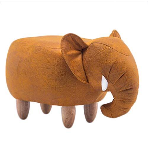 Gwgbxx Elephant Hall, Banco de Zapatos, Taburete de sofá Creativo, Taburete de Almacenamiento, Taburete, Taburete de Almacenamiento (Color : C)