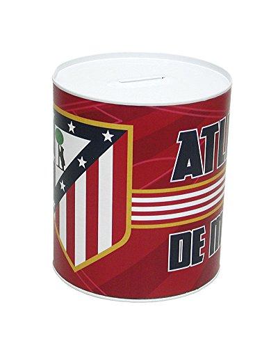 Atletico de Madrid- 0 Hucha Metal cilíndrica 13, 0 (CYP Imports HM-16-ATL)
