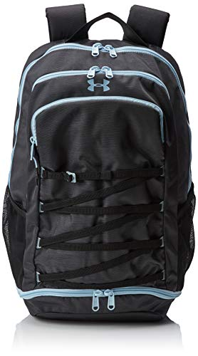 Under Armour UA Imprint Backpack Mochila, Mujer, Gris (Jet Gray Coded Blue 010), Talla única