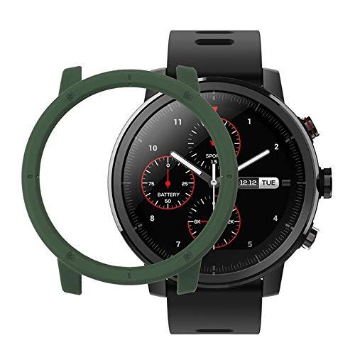 GERPON for Amazfit Stratos PC-Schutzhülle (Armee-Grün) (Farbe : Army Green)