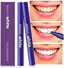 Teeth Whitening Pen (2 Pack),Natural Teeth Whitening Gel, Safe and Effective for Teeth Whitening, Painless, No Sensitivity, Easy to Use, Beautiful White Smile, Natural Mint Flavor