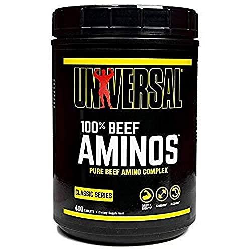 Universal Nutrition 100% Manzo Amino Supplemento 400 Compresse - 400 g