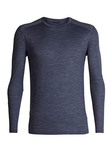 Icebreaker Merino Men's Sphere Long Sleeve Crew Neck Shirt for Travel Or Hiking, Merino Wool