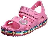Crocs Fun Lab Rainbow Sandal, Sandalia Unisex Niños, Pink Lemonade, 29/30 EU