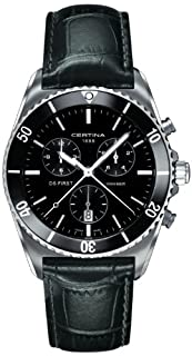 Certina Herren-Armbanduhr XL Chronograph Quarz Leder C014.417.16.051.00 (B00AN9J3XI) | Amazon price tracker / tracking, Amazon price history charts, Amazon price watches, Amazon price drop alerts