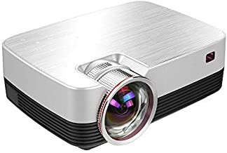 Mini Projector - Upgraded Projector +50% Lumens LED Full HD Mini Portable Projector 120