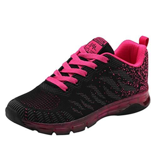 Covermason Zapatos Zapatos para correr mujer, punto Zapatos