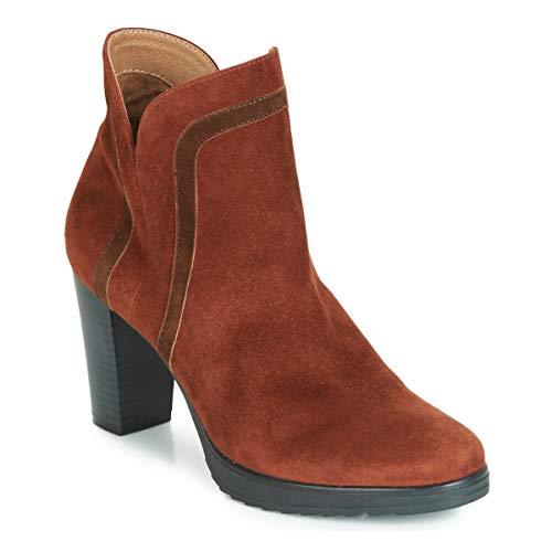 Karston VASOR Bottines/Boots Femmes Marron - 39 - Bottines
