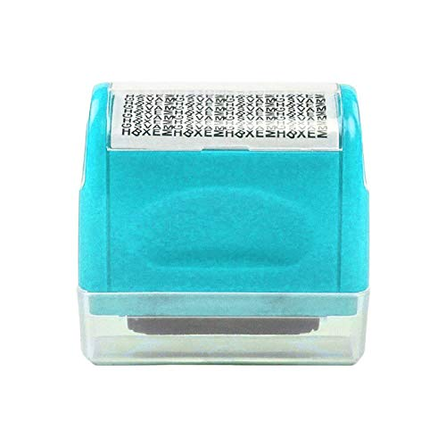 Identity Theft Protection Roller Stamp Wide,Design for...