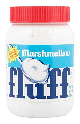 Fluff Marshmallow Naturale, Spalmabile su Pane, Cotone Dolce, Vaniglia, 213 g, 42670