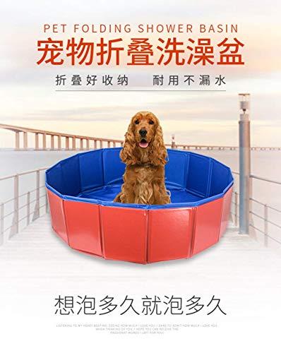 SKlight hondenbadkuip, inklapbare badkuip, Golden Retriever huisdierbekken, whirlpool, groot hondenbad