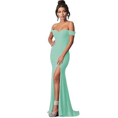 Dress Formal Mint Green Mermaid: Amazon.com