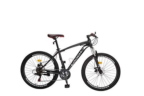 LOOCHO Mountain Bike 21 Speed 26 inch Shining SYS Double Disc Brake Suspension Fork Anti-Slip Bikes…