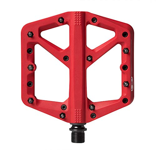 CRANKBROTHERS Stamp-1 Pedales, Unisex Adulto, Rojo, Large