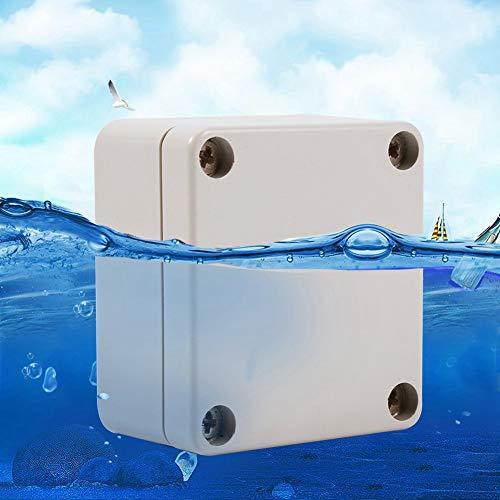 Cajas de conexiones impermeables, 1 caja de conexiones impermeable de plástico ABS a prueba de polvo, carcasa universal para proyectos eléctricos(65 * 60 * 35mm)