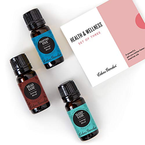Edens Garden Health & Wellness Essential Oil 3 Set, Best...