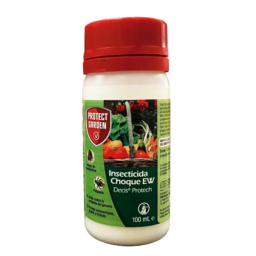 Protect Garden Decis Protech - Insecticida polivalente concentrado para ornamentales, frutales y horticolas, pulgones y orugas, 100ml