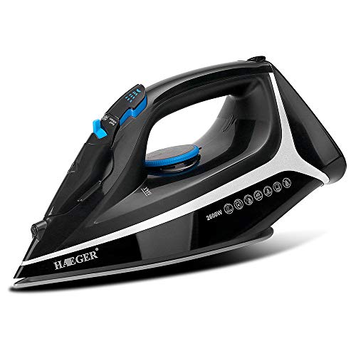 Review JINRU Pearl Ceramic Electronic Steam Iron, 0.4 Litre, 2600 W,Rapid Heating